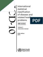 ICD10Volume2 en 2016