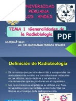 Tema 1 Radiobiologia