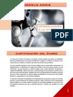 Enfoque ADDIE- iNTRODUCCIÓN A LA ROBÓTICA POR ILEANA C. CABALLERO