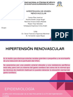 HIPERTENSIÓN DE ORIGEN RENO VASCULAR.ZOÉ.pptx