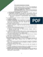 Revolução Burguesa No Brasil - Fichamento