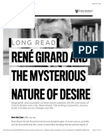 René Girard and the mysterious nature of desire | Hub
