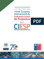 Compendio del primer congreso internacional de evaluación de proyecto social S1800424_es