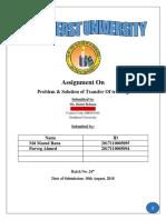 T & D Assignment.docx