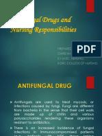Nursing Management of Anti Fungal Drugs