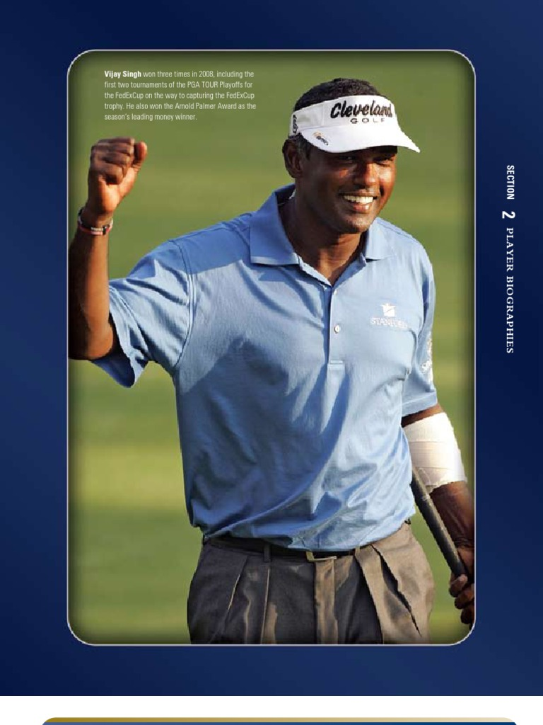 9e54fb8ad PGA Tour 2009 Media Guide Player Biographies