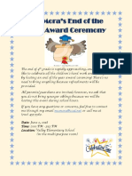 assignment 3  awards and certificates
