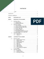 Daftar Isi Pedoman Skripsi UG