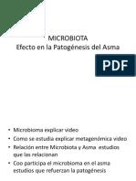 Microbioma y Asma
