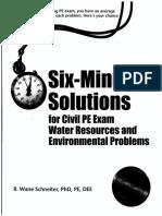 Wr & Enve Problems (New)