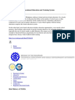 Philippine Technical Vocational Education and Training System