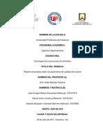 Practcas sobre parametros de calidad de carnes y proceso de conservación de alimentos..docx