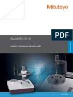 Mitutoyo - Przyrząd do pomiaru kształtów Roundtest RA-10 - PRE1410(2) - 2017 EN