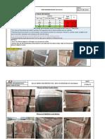 wooden block inspection report