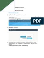 Instructivo Para Inscribirse a La Plataforma SCHOOLOGY (Instructor)