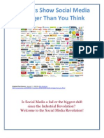 Socia Media is Bigger Than You Think