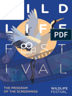Vaasa Wildlife Festival 2018-The Program of the Screenings
