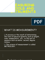 Electrical Measuring Tools and Equipment