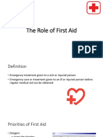 The Role of First Aid.pptx