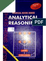 M K PANDEY Analytical Reasoning