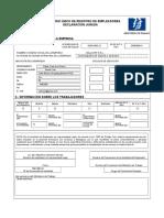 19. Formulario de Registro Unico de Empleadores