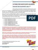 Red Robin Allergens FP