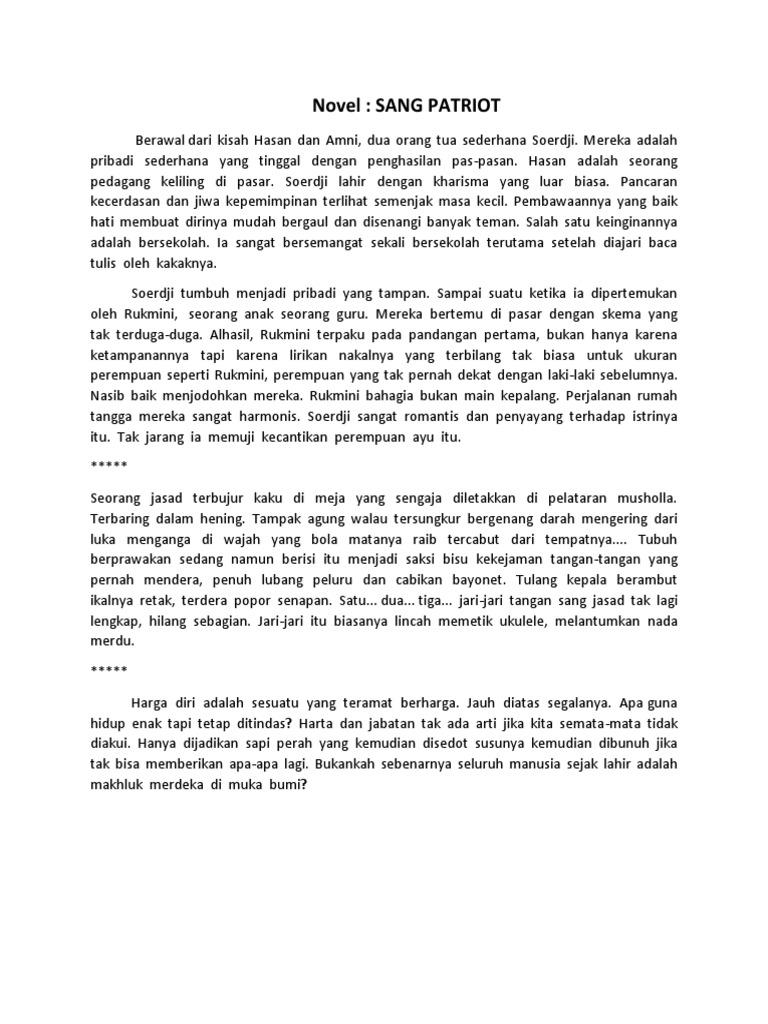 Contoh Teks Cerita Sejarah Dan Kutipan Novel Sejarah