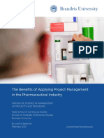 Pharma and Project Management