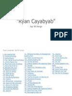 Top 50 Ryan Cayabyab