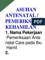 SOP ASUHAN ANTENATAL.docx