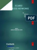 EC 6802 WIRELESS NETWORKS_BABU M_UNIT 3 ,4 &5 PPT