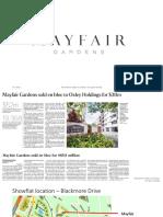 mfg factsheet and info