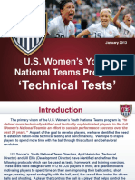 Us Womens Technical tests