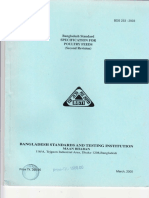 Specification for Poultry Feed