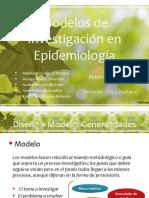 Modelos de Investigación en Epidemiología