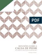 CHEKER, Monique. reflexões Sobre a Causa de Pedir. No direito processual brasileiro. Brasília, ESMPU, 2014.pdf