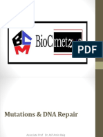 Mutations and DNA Repair  by BioCmetza
