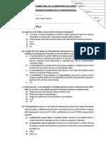 Examen Final de Daca - 50 Sin Respuestas