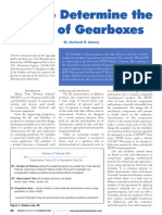 Antony How to Determine the MTBF of Gearboxes