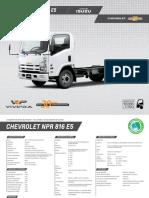 Manual Camion Npr-816 Chevrolet