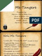 Noli Me Tangere 01