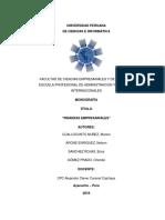 Monografia de Finanzas 2018
