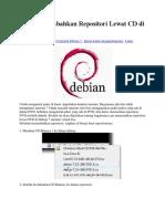 Repositori Lewat CD Di Debian 7