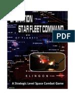 Operation Star Fleet Command Rules v.13