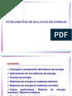 Balances de Energia