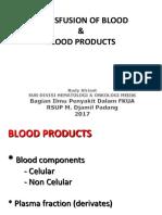 2.2.6.2 Komponen Darah Yg Ditransfusikan_ Indikasi_ Dan Tatacara Transfusi Darah