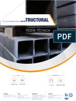 Ficha Técnica Tubería Estructural