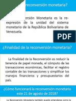 Reconversion Monetaria en Venezuela