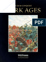 WAC Armies Book Dark Ages