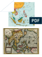 Polsc 178 - Ancient and Modern Map of SEA